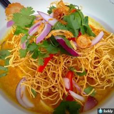 Yellow Curry Chicken Noodle