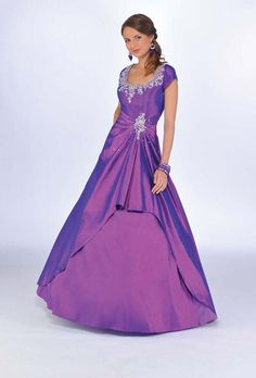 This is the color of R's dress that we need to alter. t too bad hers doesn't already have sleeves.