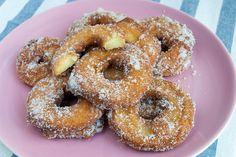 Beignets. Buñuelos de manzana - Recetasderechupete.com