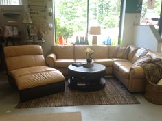 Three Piece Leather Huntington Sectional by Jaymar SALE: $4,610.25 (Reg. $10,245.00 ) Chaise: SOLD!