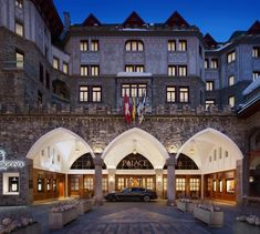 Badrutt's Palace Hotel, St Moritz, Switzerland Aspen Hotel, Luxury Collection Hotels, Train Tour, Palace Hotel, Romantic Places, Beautiful Hotels, Central Europe, Winter Holidays, Luxury Travel
