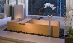 The Authentic Japanese Ofuro - Hand crafted wooden baths | Beautiful Handcrafted Wooden Hot Tubs