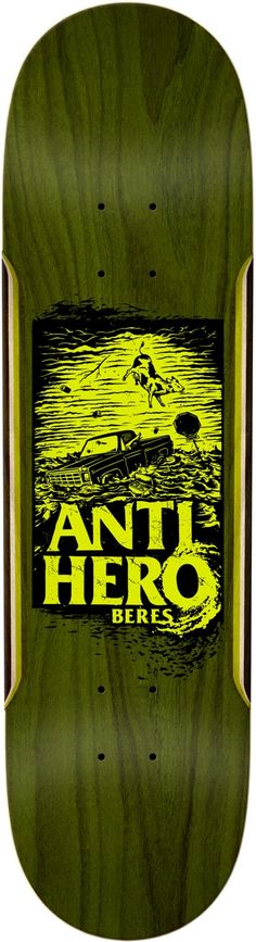 Anti-Hero has you covered with skate decks shaped from wide to narrow, plus a sweet line of skate-inspired clothing. Anti Hero Skateboards, Cool Skateboards, Skateboard Design, Skateboard Decks, Skate Art, Skate Decks, Logo Sticker, Deck Design, Skateboarding