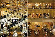 Bon Marche - the world's first department store  Paris