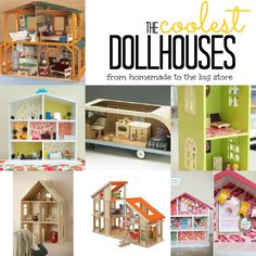 The 18 Coolest Doll Houses (For Boys and Girls!)