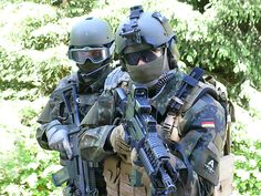 Ziel der Mühe: Fertiger Kommandosoldat