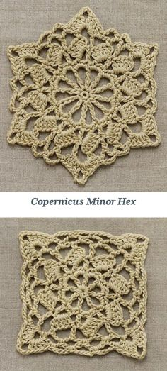 Crochetemoda: 2 motifs and uses (inspiration)