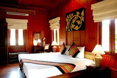 THAI  With traditional Thai style of architecture and interior design