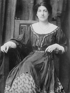 May Morris, 1909. Jane and William's daughter, who designed and embroidered many Arts and Crafts tapestries.