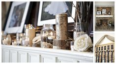 I have recently fallen in love with mason jars. LOVE the idea of putting small pebbles, water and floating candles in a mason jar! So cute for a party or a coffee table. Floating Candles, Studio Apartment, Whisper, Diy Wedding, Mason Jars, Interiors, Coffee, Country, Wood