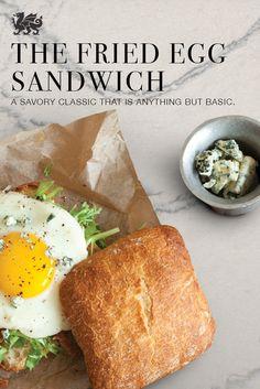 Breakfast, lunch or dinner, the Fried Egg Sandwich is a sure winner. (Featured Design: Ella™)
