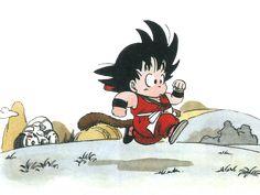 A Freelance Cartooning, Pro-Wrestling viewing, Comic Strip thinking, and Coffee drinking son of a gun. Manga Anime, Anime Art, Character Concept, Character Design, Kid Goku, Posca Art, Dragon Ball Gt, Anime Style, Fan Art