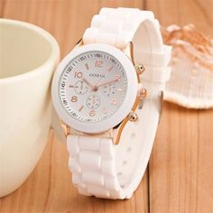 cf98d088a0c Casual Sport Watches Geneva Unisex Quartz. Relógios FashionRelógio FemininoEstilo  ...