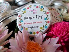 Bálsamos labiales para bodas   Lip balm for weddings. www.lapompaquerie.com