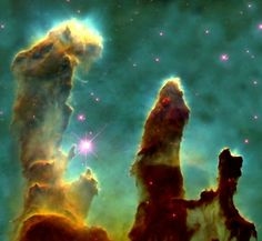 "The Eagle Nebula ""pillars of creation"""