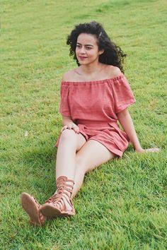 Alana Santos Blogger: Macaquinho cigano ombro a ombro