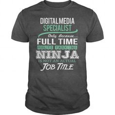Awesome Tee For Digital Media Specialist T Shirts, Hoodies, Sweatshirts. GET ONE ==> https://www.sunfrog.com/LifeStyle/Awesome-Tee-For-Digital-Media-Specialist-144357222-Dark-Grey-Guys.html?41382