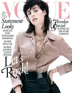 Vogue Cover November 2013  #cover #covermodel #voguegermany