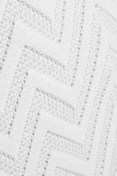 Alaïa - Jamaica Stretch-knit Maxi Skirt - White - FR44
