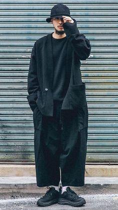 Japanese Street Fashion, Fashion Images, Japan Fashion, Stylish Men, Look Cool, Aesthetic Clothes, Streetwear Fashion, Fashion Outfits, Fashionable Outfits