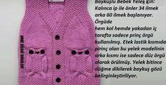 Kapşondan Başlanan Kolay Hırka Modeli | #yelek #hırka #yelekmodelleri #hırkamodelleri #örgü