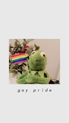 ˗ˋˏ w a l l p a p e r ˎˊ˗ Tumblr Wallpaper, Wallpaper Iphone Cute, Cute Wallpapers, Frog Wallpaper, Phone Wallpapers, Gay Aesthetic, Rainbow Aesthetic, Kermit The Frog, Lgbt Community