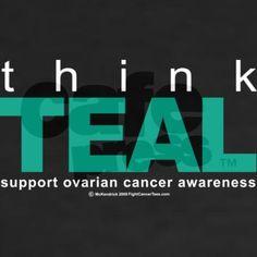 Ovarian Cancer THINK TEAL