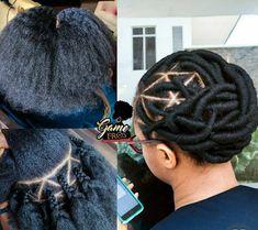 African Braids Hairstyles, Twist Hairstyles, Protective Hairstyles, African Threading, Hair Threading, Natural Hair Braids, Braids For Black Hair, Brazilian Wool Hairstyles, Curly Hair Styles