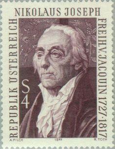 Freiherr von Jacquin, Nikolaus Joseph (1727-1817) botanist