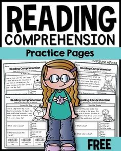 Teach Your Child to Read - Reading Comprehension passages - text evidence - FREE First Grade - Give Your Child a Head Start, and.Pave the Way for a Bright, Successful Future. Reading Comprehension Passages, Reading Fluency, Reading Centers, Reading Intervention, Reading Workshop, Reading Skills, Comprehension Strategies, Reading Groups, Reading Response