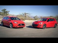 Ford Focus ST vs Mazdaspeed3! - Head 2 Head Episode 28