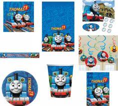 Mantel & Decoraciones Thomas El Tren Niños Fiestas Cumpleaños
