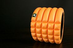 A Travel-Friendly Foam Roller http://www.bicycling.com/training/training/these-10-products-will-help-you-ride-farther-and-recover-faster/travel-friendly-foam-roller