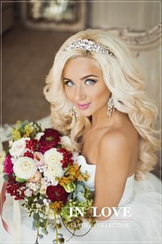 Half up half down hairstyles with headband for long hair wedding