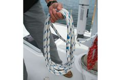 How to coild a halyard step 1