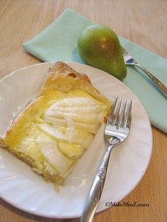 Pear Tart Fresh Ground Coffee, Pear Tart, Almond Paste, Peach Trees, Ground Almonds, Apple Orchard, How To Squeeze Lemons, Pineapple, Vegetarian