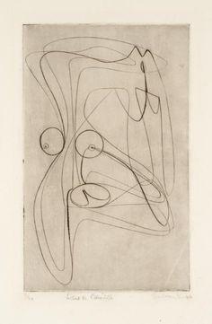 Stanley William Hayter 'Le Chas de l'aiguille', 1946 © ADAGP, Paris and DACS…