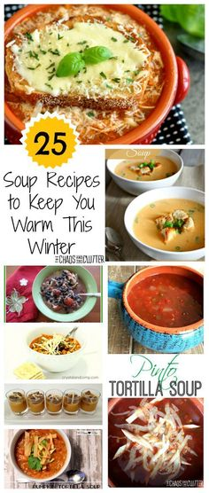 25 Soup Recipes that