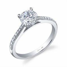 petite engagement ring ($1,970!)