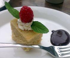 Orange cake at Arusha Coffee Lodge