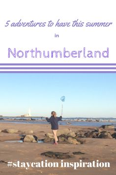 Staycation inspiration for Northumberland. Lots of ideas for family days out with kids. Hadrian's Wall, England's favourite tree (aka Robin Hood Tree / Sycamore Gap Tree), Farne Islands, Alnwick Gardens, St. Mary's Lighthouse, Holy Island / Lindisfarne. Lots of staycation inspiration. Travel inspiration