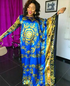 Temmie House Of Fashion: Latest Boubou Styles For Women African Maxi Dresses, Latest African Fashion Dresses, African Print Fashion, African Attire, African Wear, African Traditional Dresses, Traditional Fashion, African Blouses, Africa Dress