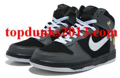 Outstanding Angry Birds Nike Dunk Black High Tops