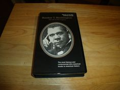 1986 BOOKER T WASHINGTON documentary VHS Life & Legacy biography  | DVDs & Movies, VHS Tapes | eBay!