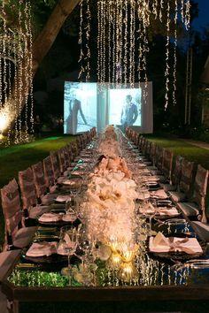 60 Best Outdoor Wedding Lights Images Wedding Decorations