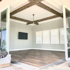 Accent Ceiling, Shiplap Ceiling, Faux Ceiling Beams, Faux Wood Beams, Exposed Beams, Exposed Ceilings, Beamed Ceilings, Rustic Fireplace Mantels, Homes