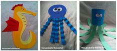 A Cupcake for the Teacher: Under the Sea {Craftivities & Printables} and a Freebie!