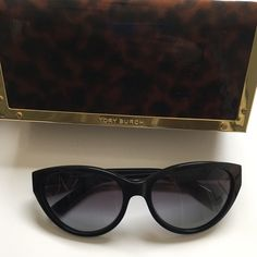 Tory Burch Cat Eye Sunglasses- non plorized Perfect condition, worn 2-5 times max! You can see all the details on the Nordstrom page I listed in photos. Tory Burch Accessories Sunglasses