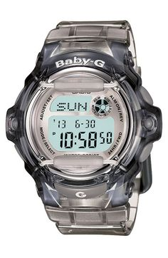 Casio 'Baby-G' Jelly Watch available at Nordstrom