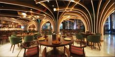Karamna Alkhaleej restaurant by 4SPACE, UAE – Dubai » Retail Design Blog